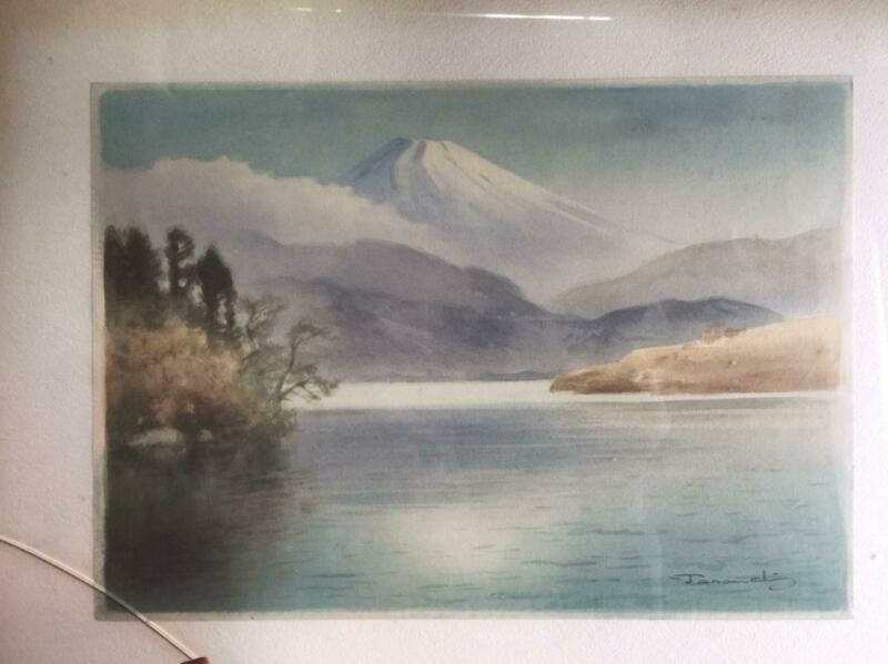 Fukutaro Terauchi • Mt. Fuji Watercolor