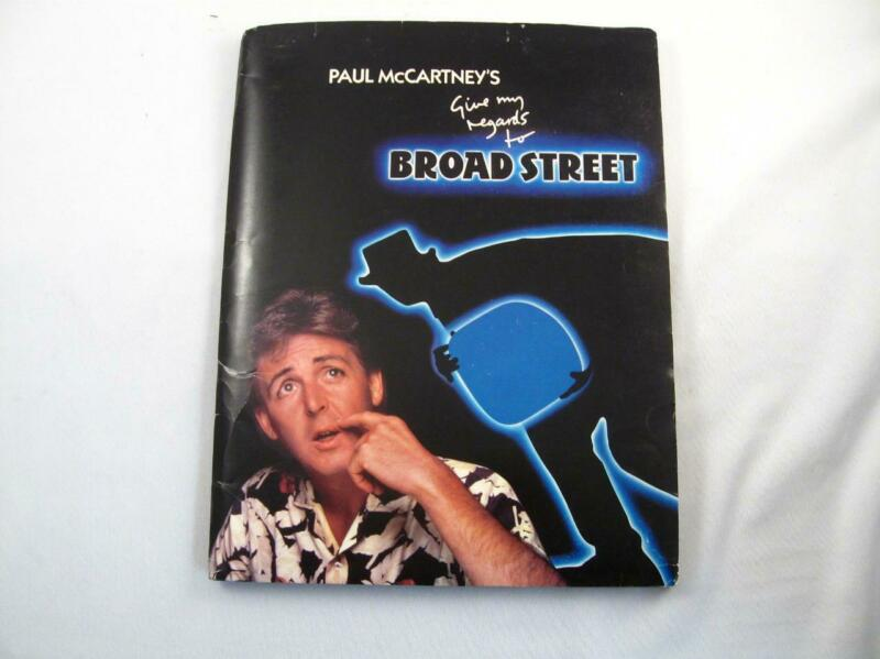 PAUL McCARTNEY GIVE MY REGARDS TO BROAD STREET 1984 PROMOTIONAL PRESS KIT PHOTO