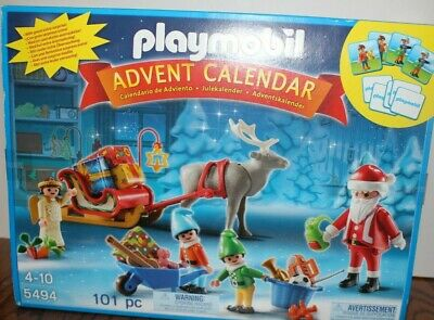 Playmobil 5494 Santa's Workshop Christmas Advent Calendar Ages 4-10