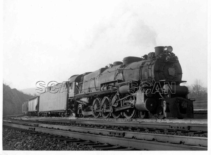 0AA225 RP 1940s/50s PENNSYLVANIA RAILROAD LOCOMOTIVE #6739