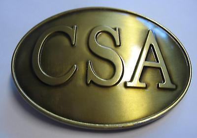 Gürtelschnalle Buckle CSA Rebel Südstaaten C.S.A. Konföderierte