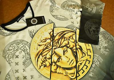 New With Tags Men's VERSACE Long Sleeve T-SHIRT Slim Fit Size M- L- XL- 2XL