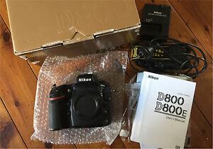 Nikon D800 36.3 MP DSLR Camera Body Ashfield Ashfield Area Preview