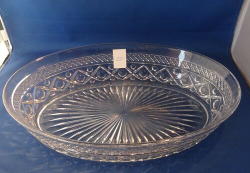 """Cape Cod Imperial 1 Crystal 160/124 Oval Vegetable Bowl 11"""""""