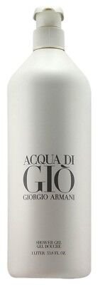 Acqua Di Gio Shower Gel (Giorgio Armani Acqua Di Gio Shower Gel 1 L./33.8Oz LIMITED EDITION Brand)