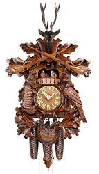 Adolf Herr Cuckoo Clock - The Hunter's Clock AH 475/1 8TMT NEW