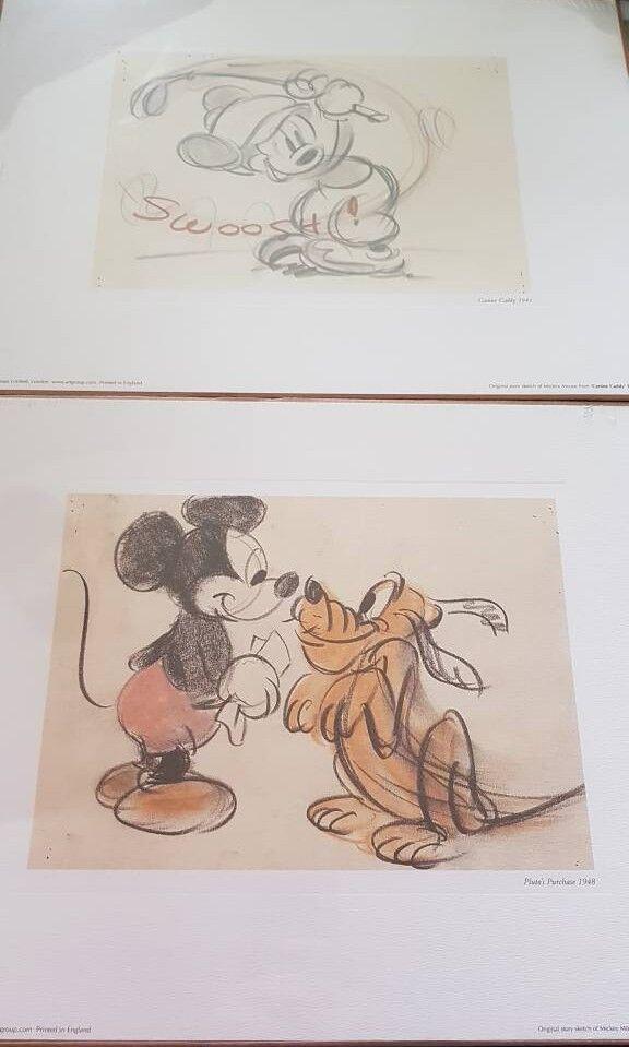 Original story sketches disney