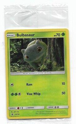 Pokemon Walmart (Sealed New Pokemon Bulbasaur SM198 Walmart Detective Pikachu Promo Free)