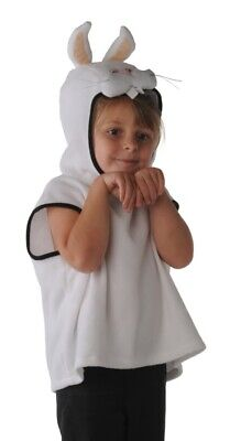 Costumes With C (Halloween Costume - Kid Rabbit Dress - Bunny One Piece with Hat - White -)