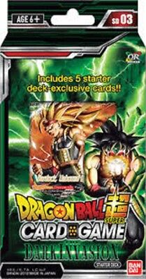 Dragon Ball Super starter deck Dark invasion New Sealed
