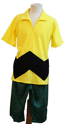 Fancy Dress-World Book Day- Peanuts- CHARLIE BROWN 2 piece set All Sizes