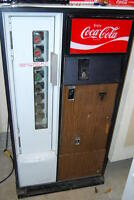 1972 Coke --- coin operated dispensing machine, by Cavalier