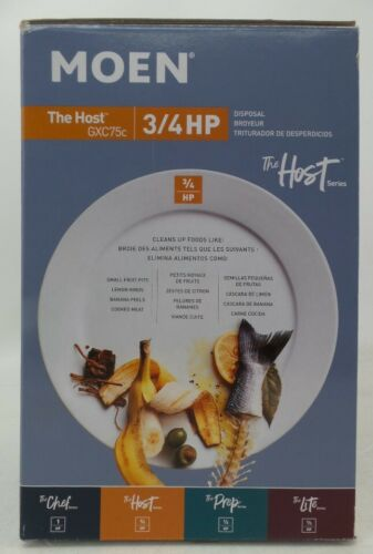 Moen The Host Series 3/4 HP Continuous Feed Garbage Disposal GXC75C