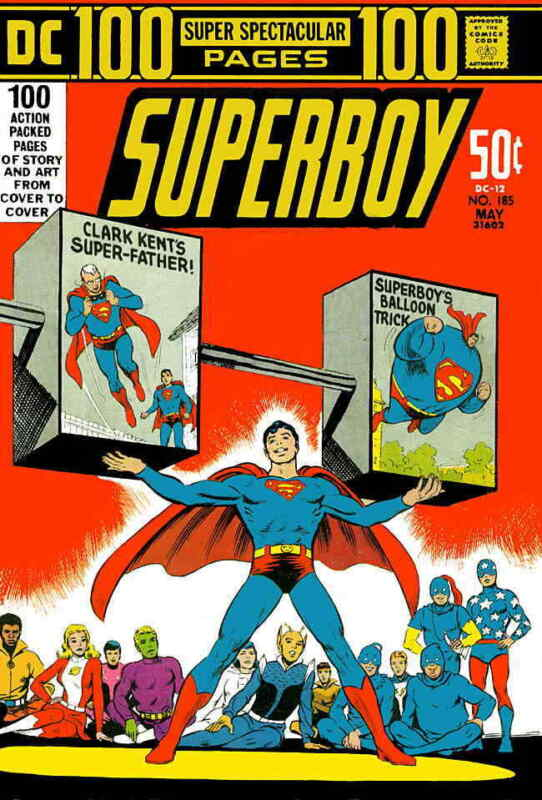 Superboy (1st Series) #185 VG; DC | low grade comic - save on shipping - details