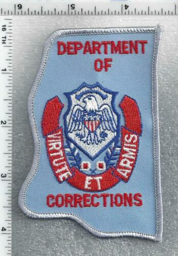 Department of Corrections (Mississippi) 3rd Issue Shoulder Patch