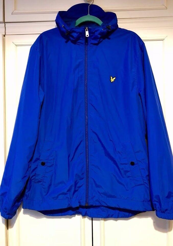 Blue Lyle And Scott Coat XL Mens