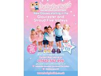 Award Winning Baby ballet classes starting in STROUD & GLOUCESTER for boys and girls aged 6mts-6yrs
