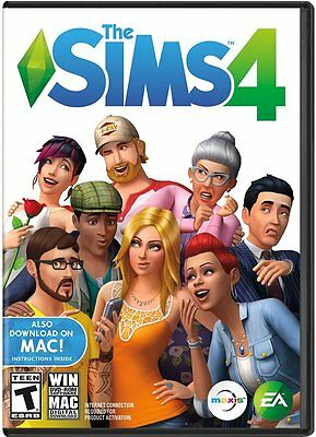 The Sims 4   Windows Pc   Mac   Brand New  Factory Sealed   Free Fast Shipping