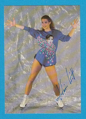 Katarina Witt - Eiskunstlauf - DDR-Karte - # 16045