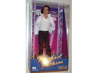 Highly Rare & Collectible Michael Jackson Doll In Original Box
