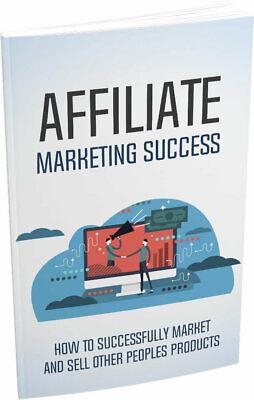 Ebooks Affiliate Marketing Success