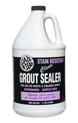 GLAZE N SEAL 413 1 gal. Water Based Stain Resistant Clear Grout Sealer - Grout Stain Sealer
