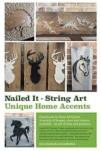 Rustic String Art - Available Pieces