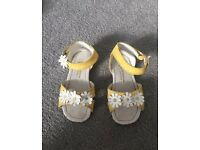 Monsoon girls sandles size 6 infant
