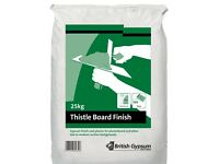 6 x bags of thistle board finish