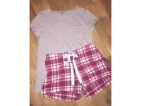 Joules PJ bottoms and M&S top