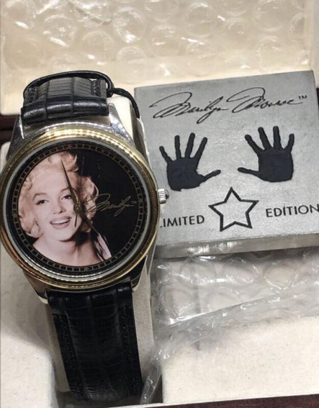 Vintage Fossil Marilyn Monroe Watch Limited Edition 4878/15000 NIB