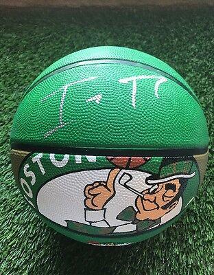 Boston Celtics ISAIAH THOMAS  Signed Spalding Team Ball Jsa Coa