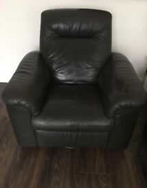 IKEA TIMSFORS ARMCHAIR REAL LEATHER CAN DELIVER