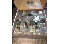 Grey Mix Mosaic Tile 30x30cm