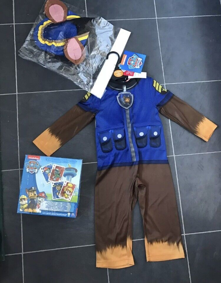 Paw patrol outfit new age 1-2 and game