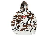 Supreme Box Logo Hooded Sweatshirt 'Brown Camo' Size UK XL Brand New