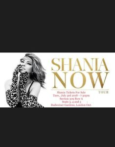 Shania Twain Now concert tickets for sale