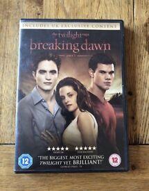 Breaking Dawn Part 1 DVD