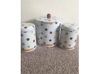 Emma Bridgewater biscuit barrel