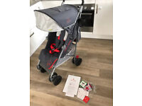 Maclaren Techno XT Stroller Charcoal/Marmalade