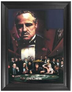 The Godfather 3D Poster Wall / Art Framed