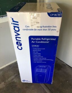 AS NEW Convair Portable Refrigerated Air Conditioner CP18CW1 5.2kW