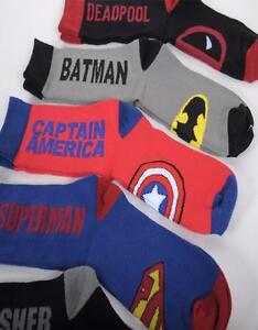 Superhero socks for sale, ONLY $5
