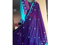 Anarkali dress 3 piece set size M