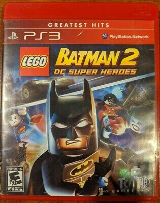 PS3 LEGO Batman 2: DC Super Heroes (Sony PlayStation 3, 2012) video game
