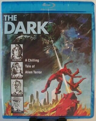The Dark Blu-ray (2017 - Code Red - OOP) ~ Tobe Hooper, William Devane