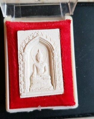 - THAILAND BUDDHIST TEMPLE AMULET IN TEMPLE BOX
