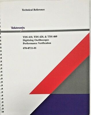 Tektronix Tds 410 Tds 420 Tds 460 Technical Reference Pn 070-8721-01