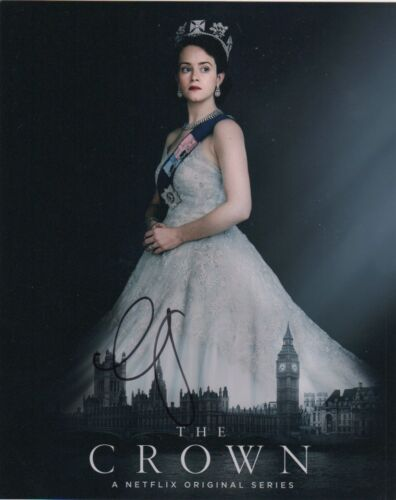 Claire Foy The Crown Autographed Signed 8x10 Photo COA #O15