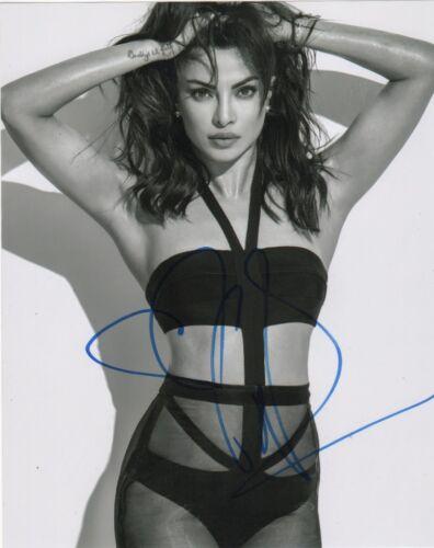 Priyanka Chopra Quantico Autographed Signed 8x10 Photo COA #3
